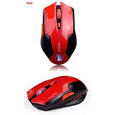 Chuột không dây AZZOR EAGLE dùng pin sạc phiên bản màu Đỏ cá tính - Phụ  kiện phím chuột văn phòng Nhãn hàng Azzor