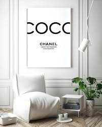 chanel wall art fashon thnk t printable coco uk australia on rose gold wall art ebay with chanel wall art fashon thnk t printable coco uk australia