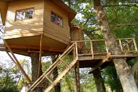 Treehouse Pictures Luxury Treehouse In France