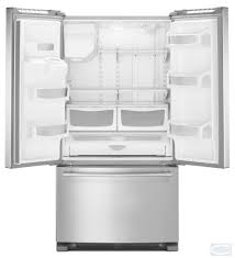 Mfi Replacement Kitchen Doors 36 Maytag 25 Cu Ft French Door Refrigerator With Powercold Mfi2570fe