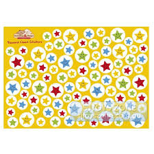 Monkey Chops Star Stickers For Reward Chart 14 85