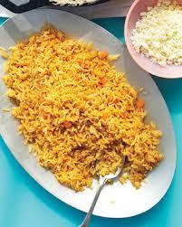 spanish rice. Plain Rice Inside Spanish Rice S