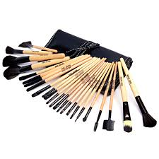 24 piece bobbi brown makeup brush set gic mac 24 piece professional makeup brush set in leather pouch ukpor fl