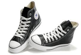 converse all star leather. converse chuck taylor all star high top black ox leather shoes