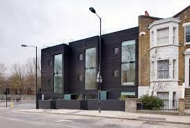 Modern terraced houses