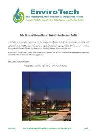 EnviroTech Africa Solar Street Lighting AC Energy Saving Systems Cou2026Solar Lighting Company
