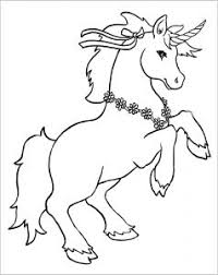 These unicorn coloring pages are totally free to download! Unicorns Free Printable Coloring Pages For Kids