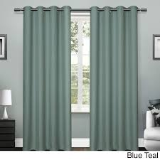 ATI Home Grommet Top Loha Linen Window Curtain Panel Pair - Free Shipping  On Orders Over $45 - Overstock.com - 18380674