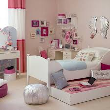 Silver And Pink Bedroom Girls Small Bedroom Ideas
