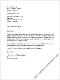 17 Best Resignation Letter Images On Pinterest | Letter Sample ...