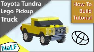 Tutorial) Lego Toyota Tundra Mini Build -Learn how to build this ...