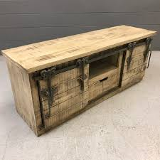 sliding barn door sideboard white rustic tv stand rustic tv stand with barn doors barnwood tv stand