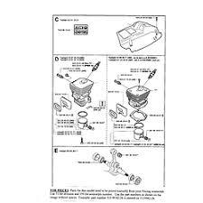 husqvarna chain saw parts model 350 sears partsdirect page 2