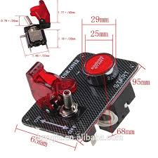 <b>12v Ignition Switch Panel</b> Engine Start Push Button For Racing Car ...