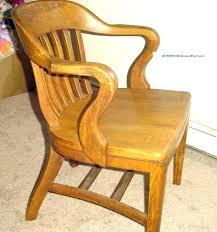 Old Desk Chair Antique Oak Office Chairs For Sale Best  Vintage Teachers Wooden D60