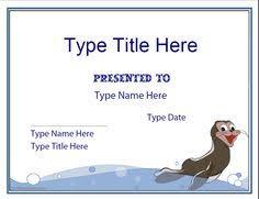Swim Certificates Templates Under Fontanacountryinn Com