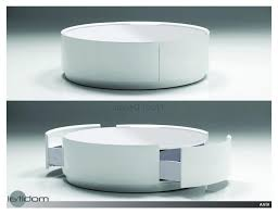 ... Large Size Of Coffee Tables:simple White Round Coffee Table Finding The  Right Thementra Decor ...