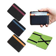 <b>2019 New Brand Men's</b> Leather Magic Wallet Money Clips Thin ...