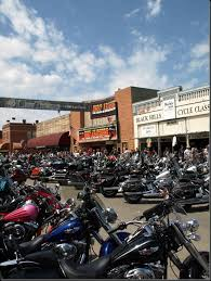 hot leathers helps support the sturgis community year round by having a on main street that provides souvenirs to people passing through sturgis when