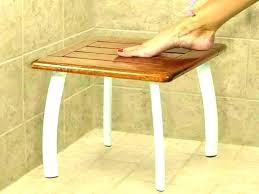 wooden shower bench care wood teak plans interior bathrooms amazing show white stool australia uk