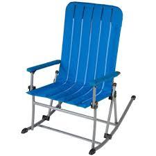 blue rocking chair. Portable Rocking Chair - Blue I