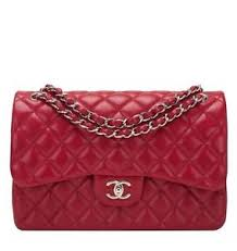 Chanel Red Quilted Caviar Jumbo Classic Double Flap Bag | eBay & Image is loading Chanel-Red-Quilted-Caviar-Jumbo-Classic-Double-Flap- Adamdwight.com