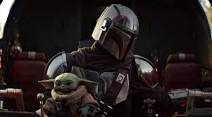 MANDO with Baby Yoda dieulois