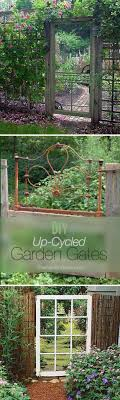 diy fences and gates diy up cycled garden gates how to make easy