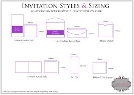 006 Typical Wedding Invitation Size Standard Card Uk Paper