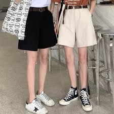 <b>2019 summer new korean</b> high waist quintuple shorts by62051