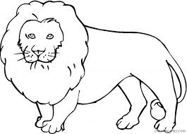 Just click on the disney coloring pages category that you like, to get a list of the coloring sheets. Lion Outline Coloring Pages Lions Super Coloring Printable Coloring4free Coloring4free Com