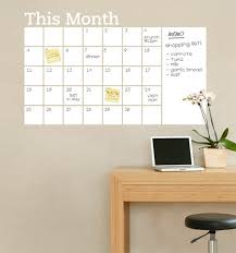 2018 new vinyl diy monthly chalkboard dry erase wall calendar with extra large wall calendars