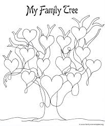 Small Picture Family Tree Coloring Pages Printable anfukco