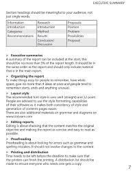 Writing Executive Summary Template Writing Executive Summary Template Narcopenantlyco 196086600537