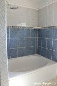 bathroom tile refinishing. Shower Before Painting Bathroom Tile Refinishing
