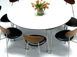 decoration round dining room table seats 8 large within tables