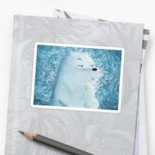 """""""<b>Ice Bear</b>"""" Sticker by jennifervioni   Redbubble"""