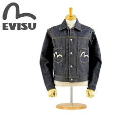 Evisu Jeans Size Chart Evisu Evisu Jeans Ejd 1555xx Paint Denim Made In Japan 1555 Denim Jacket 2nd Non Wash