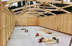 bespoke wooden garage pro installation