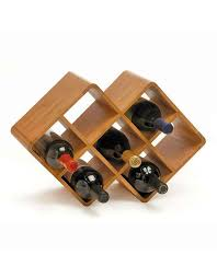 Small wine racks Wall Mounted Winerackscom Bamboo Wine Rack Small Wine Rack
