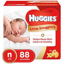 Little Snugglers Size Chart Huggies Little Snugglers Baby Diapers Size Newborn 88