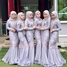 Lihat ide lainnya tentang gaun kebaya modern, gaun, model pakaian. Model Kebaya Duyung Modern Hijab Fashionita