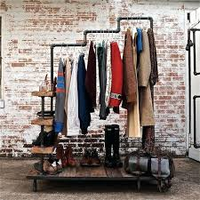 Plumbing Pipe Coat Rack Diy Coat Rack Pipe Pipe Clothing Rack Improbable Ideas About Clothes 99