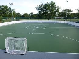 grass soccer field with goal. Soccer Grass Field With Goal
