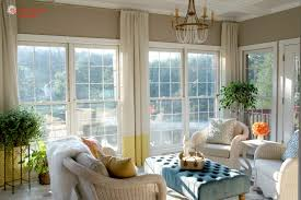 Perfect Curtains In Sunroom Inspiration with Sunroom Finished Finally