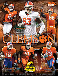 - 2010 By Bowl Tigers Football Clemson Issuu Guide