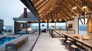 view modern house lights. Simple Lights Modern Ocean View Home South Africa With House Lights