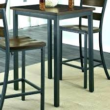 round bistro table wood pub set sets bar and stools square