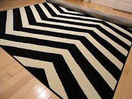 attractive zig zag area rug large indoor outdoor 8x10 courtyard black white zigzag area rug