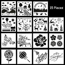 I Do Not Like This Painting Template Ootsr 15pcs Scrapbook Stencils Templates Soft Plastic Painting Template With Different Patterns For Scrapbooking Card Wood Stone Fabric Airbrush Wall